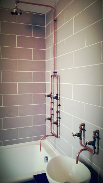 bathroom installation kemptown, Brighton. copyright brighton plumbing and bathrooms